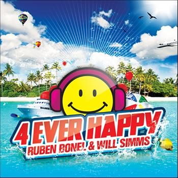 Ruben Bonel & Will Simms - 4 Ever Happy