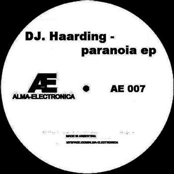 Kornel Hegedus aka DJ Haarding - Paranoia ep