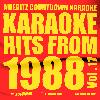 Ameritz Countdown Karaoke - Karaoke Hits from 1988, Vol. 17