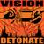 - Detonate