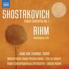Jaap van Zweden - Shostakovich: Violin Concerto No. 1 - Rihm: Gesungene Zeit