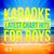 - Karaoke - Latest Chart Hits for Boys, Vol. 16