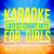 - Karaoke - Latest Chart Hits for Girls, Vol. 4
