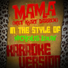 Karaoke - Ameritz - Mama (Met Kurt Darren) [In the Style of Nicholis Louw] [Karaoke Version] - Single