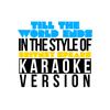 Karaoke - Ameritz - Till the World Ends (In the Style of Britney Spears) [Karaoke Version] - Single