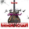 Karaoke - Ameritz - Carrie (In the Style of Cliff Richard) [Karaoke Version] - Single