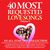 - 40 Most Requested Love Songs Vol. 2