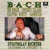 Sviatoslav Richter - Johann Sebastian Bach: Tre sonate, Concerto Italiano, Quattro duetti, Capriccio, Sviatoslav Richter 'Un homme de concert vol.3'
