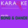 ProSound Karaoke Band - Karaoke in the Style of Song and Dance