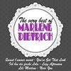 Marlene Dietrich - The Very Best of Marlene Dietrich