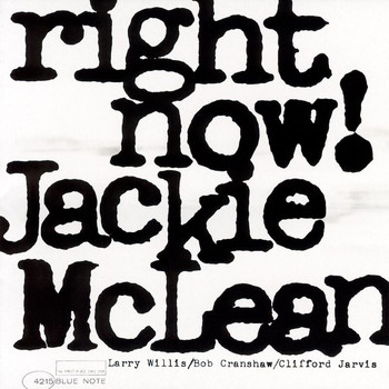 Jackie McLean - Right Now