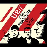 U2 - All Because Of You (2 track)