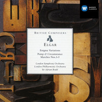 Sir Adrian Boult/London Symphony Orchestra/London Philharmonic Orchestra - Elgar: Enigma Variations - Pomp & Circumstance Marches Nos.1-5