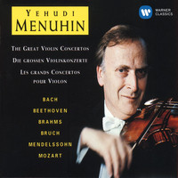 Yehudi Menuhin - The Great Violin Concertos