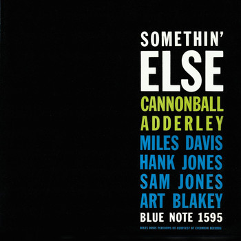 Cannonball Adderley - Somethin' Else (Rudy Van Gelder Edition)