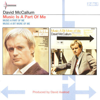 David McCallum - A Part Of Me/A Bit More Of Me