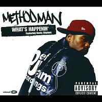 Method Man - What's Happenin' (UK 4 trk ECD)