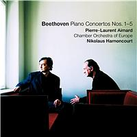 Pierre-Laurent Aimard, Nikolaus Harnoncourt & Chamber Orchestra of Europe - Beethoven : Piano Concertos Nos  1 - 5
