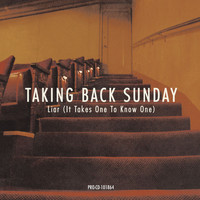 Taking Back Sunday - Liar [It Takes One To Know One] (U.K. 2-Track CD)