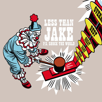 "Less Than Jake - P.S. Shock The World (U.K. 7"" #2)"