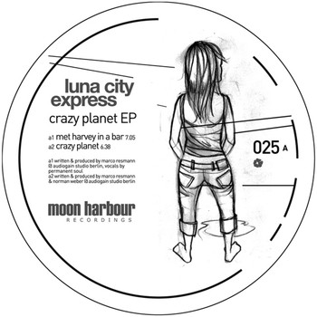Luna City Express - Crazy Planet EP