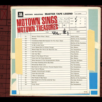 Various Artists - Motown Sings Motown Treasures