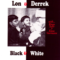 Lon and Derrek Van Eaton - Black & White