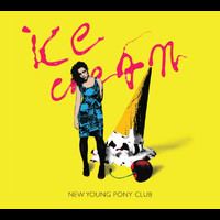 New Young Pony Club - Ice Cream (Original + Head In My Voice (Demo))