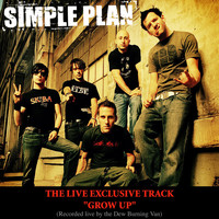 Simple Plan - Grow Up (Live Burning Van Version - online single)
