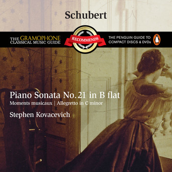 Stephen Kovacevich - Schubert: Piano Sonata No.21 D960, etc