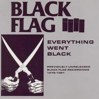 Black Flag - Everything Went Black