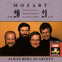 Alban Berg Quartett - String Quartets Nos.20 & 21