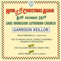Garrison Keillor - Now It Is Christmas Again