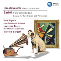 John Ogdon - Shostakovich: Piano Concertos/Bartok: Sonata for 2 pianos & percussion