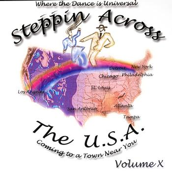 Various Artists - Steppin Across The USA - Steppin Across The USA Volume 10