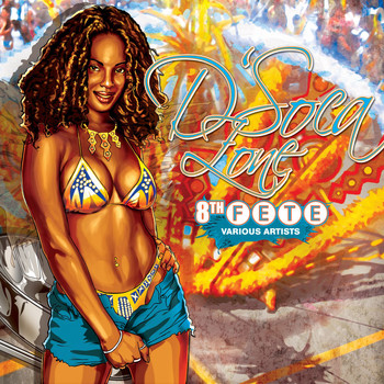 Various Artists - D'soca Zone: The 8th Fete