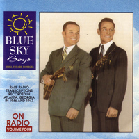 Blue Sky Boys - On Radio - Volume 4