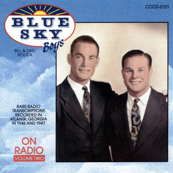 Blue Sky Boys - Vol. 2-On Radio
