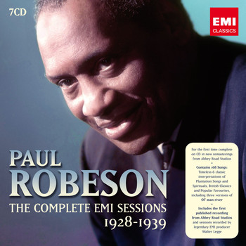 Paul Robeson - Paul Robeson: The Complete EMI Sessions 1928-1939