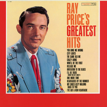 Ray Price - Greatest Hits