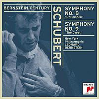 "Leonard Bernstein - Schubert:  Symphonies No. 8, ""Unfinished"" and No. 9, ""The Great"""