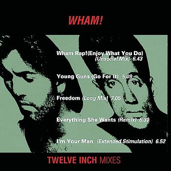 "Wham! - Wham 12"" Mixes"