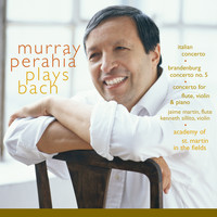 Murray Perahia - Murray Perahia Plays Bach: Italian Concerto, BWV 971; Brandenburg Concerto No 5, BWV 1050; Concerto for flute, violin, harpsichord, BWV 1044