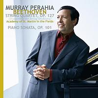Murray Perahia - Beethoven: String Quartet, Op. 127 (transcribed for string orchestra);  Piano Sonata, Op. 101