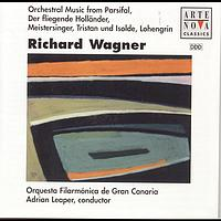 Adrian Leaper - Wagner: Pieces From Tristan And Isolde/Lohengrin/Meistersinger/Parsifal/etc
