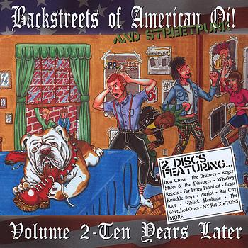 Various Artists - Backstreets of American Oi! and Street Punk Volume 2: Ten Years Later