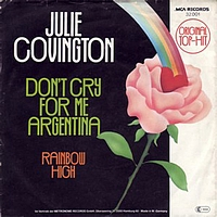 Julie Covington - Dont Cry For Me Argentina