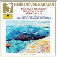 Herbert von Karajan / Berliner Philharmoniker - Tchaikovsky: Piano Concerto No.1 In B Flat Minor, Op. 23 ; Violin Concerto in D Major, Op. 35