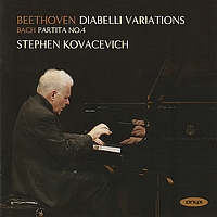 Stephen Kovacevich - Beethoven: Diabelli Variations - Bach: Partita No.4