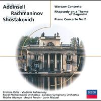 Various Artists - Addinsell/Rachmaninoff/Shostakovich etc: Warsaw Concerto/Paganini Rhapsody/Piano Concerto No.2
